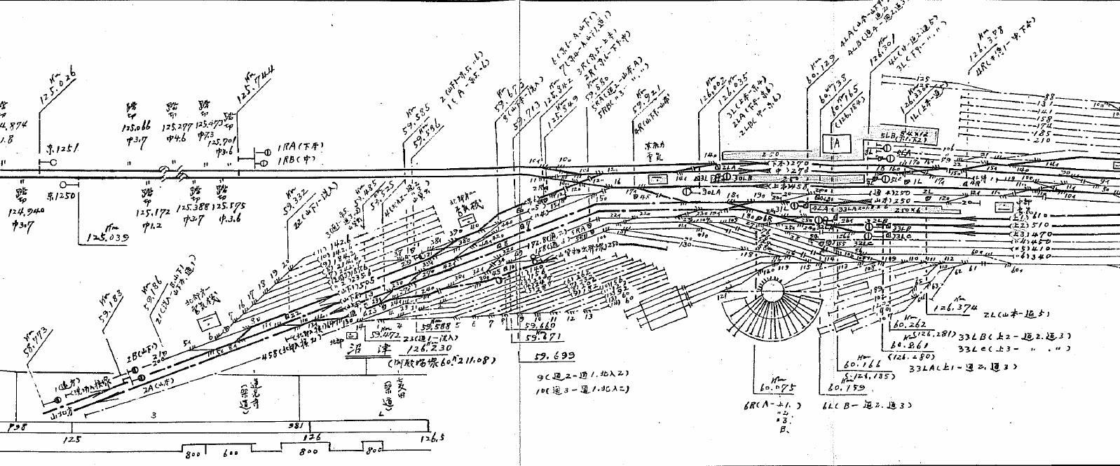 鉄道歴史地図 路線図・廃線