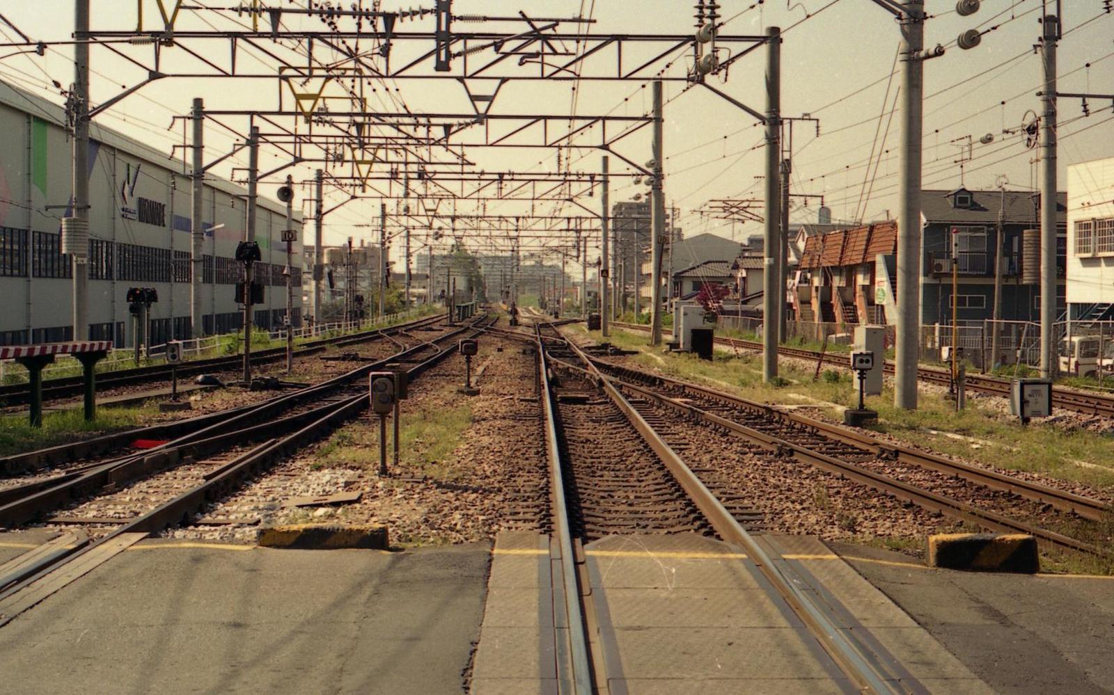 2001南福岡: 懐かしい駅の風景~線路配線図とともに