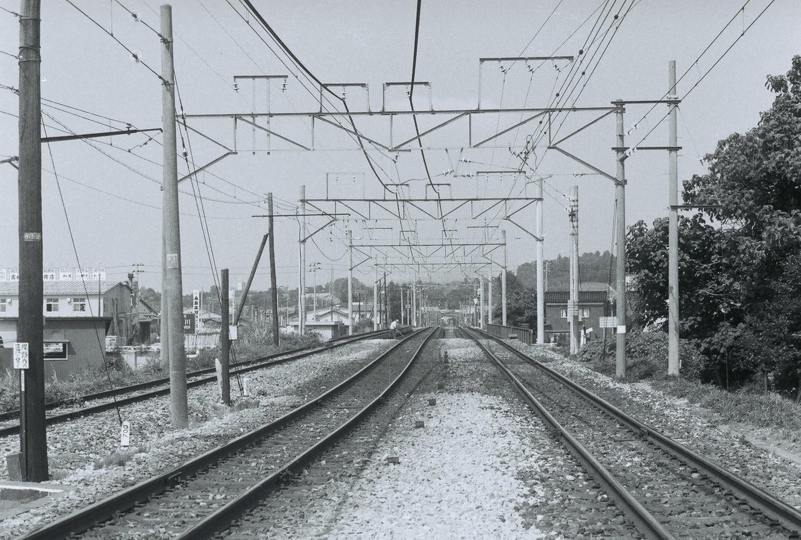 加茂(信越線) 1979/8/9: 懐かしい駅の風景~線路配線図とともに